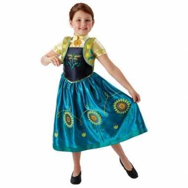 Frozen Fever verkleed jurkje voor meiden carnaval