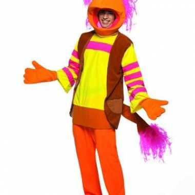 Funny kostuums van de freggels voor carnaval