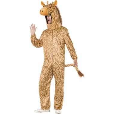 Giraffen pakken voor dames en heren carnaval