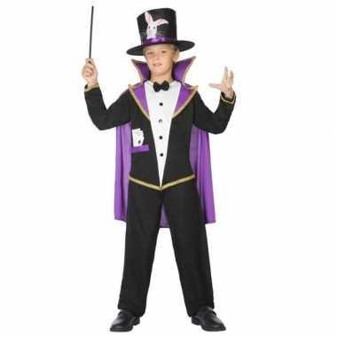 Goochelaar verkleed pak/kostuum voor kinderen carnaval