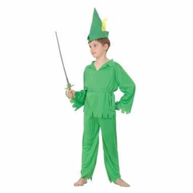 Groen Peter pakje voor kinderen carnaval