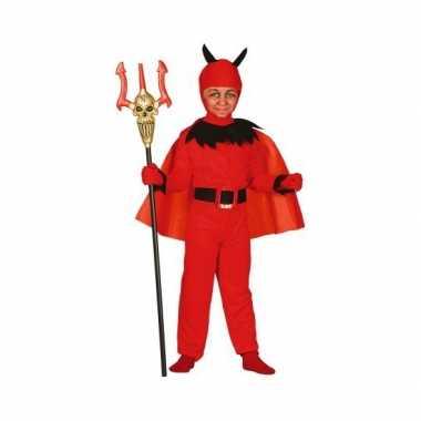Halloween kostuum duivel voor kinderen carnaval