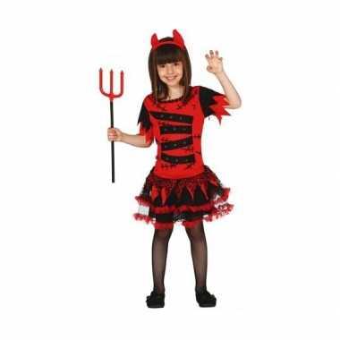 Halloween kostuum duivel voor meisjes carnaval
