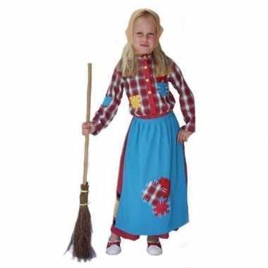 Halloween kostuum heks voor meisjes carnaval