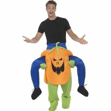 Halloween kostuum pompoen voor carnaval