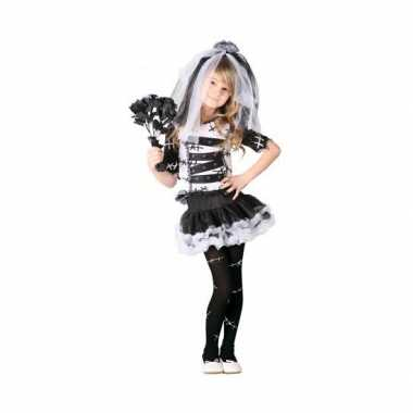 Halloween zombie bruidsjurk voor meisjes carnaval