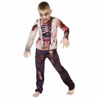 Carnaval Kostuum Kind.Halloween Zombie Kostuum Voor Kinderen Carnaval