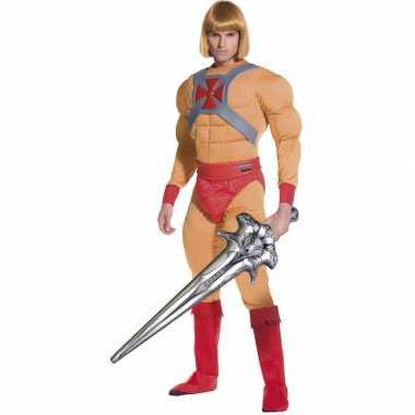 He-Man kostuum voor carnaval