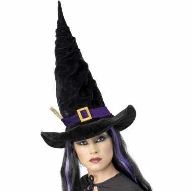 Heksen hoed voor dames carnaval