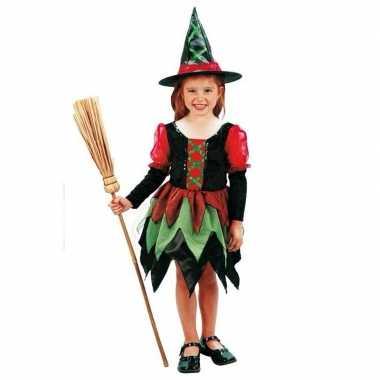 Heksen kostuum meisjes voor carnaval