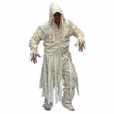 Heren mummie kostuum voor carnaval