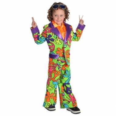 Hippie carnavalskleding jongens voor