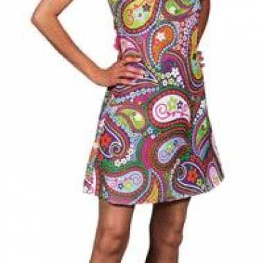 Hippie jurk carnavalskleding dames voor