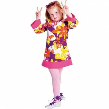 Hippie jurk voor meiden carnaval