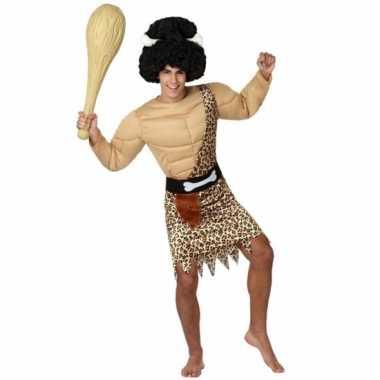 Holbewoner verkleed kostuum voor heren carnaval