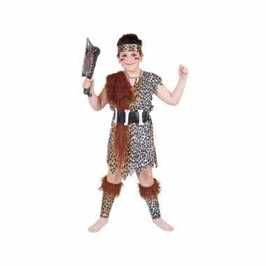 Holbewoner verkleed kostuum voor kinderen carnaval