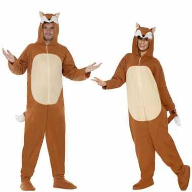 Huispak vos voor volwassenen carnaval