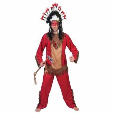 Indiaan lootah carnavalskostuum voor heren