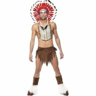 Indianen kostuums voor mannen carnaval