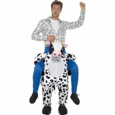Instapkostuum koe voor volwassenen carnaval