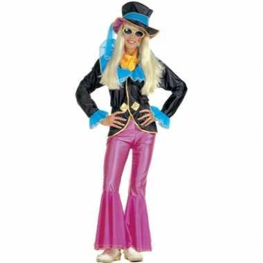 Jaren 70 outfit voor dames carnaval