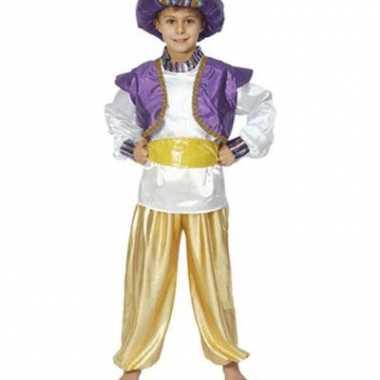 Jongens kostuum Aladdin voor carnaval