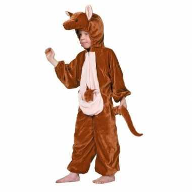 Kangoeroe verkleed kostuum voor kinderen carnaval