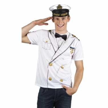 Kapiteins pak herenshirt voor carnaval