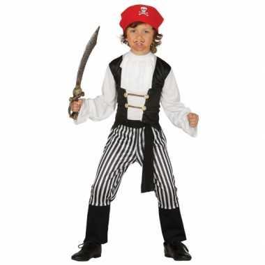 Kapiteins pak voor jongens carnaval