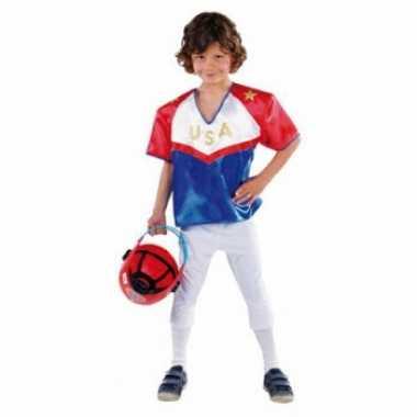 Kinder kostuum American Football voor carnaval