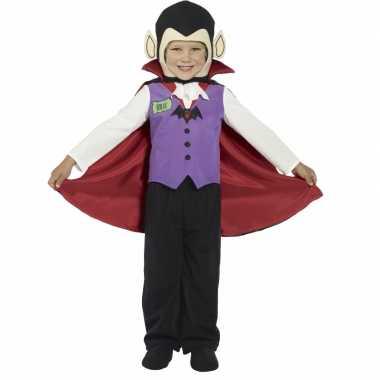 Kinder vampier kostuum Graaf Dracula voor carnaval