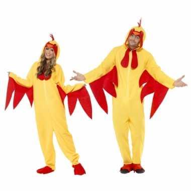 Kippen pakken voor dames en heren carnaval