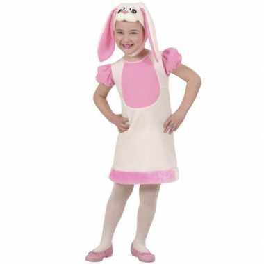 Kleuter verkleedkleding konijn voor carnaval