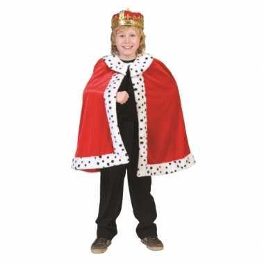 Konings cape voor kinderen carnaval