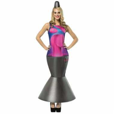 Lava lamp pakje voor dames carnaval