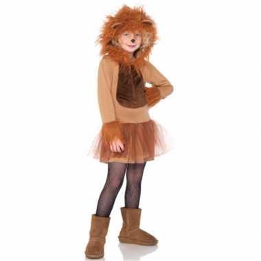 Leeuwen jurkje voor meisjes carnaval