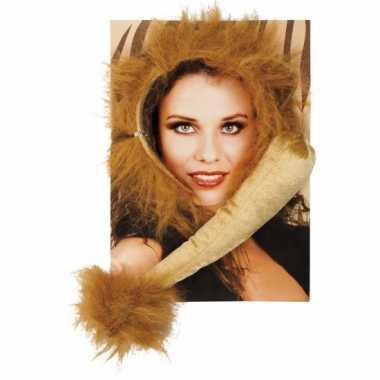 Leeuwen verkleed setje voor volwassenen carnaval