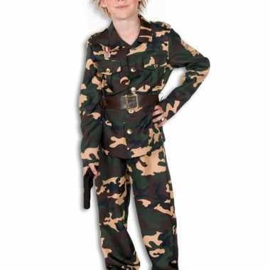 Leger outfit voor kinderen carnaval