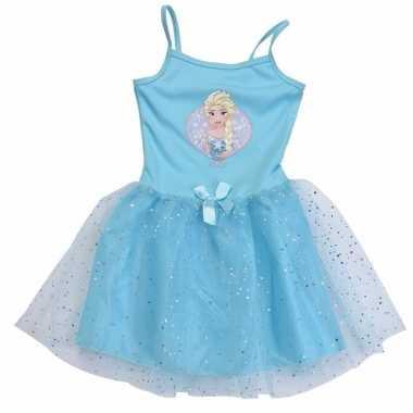 Leuke meiden jurk frozen voor carnaval