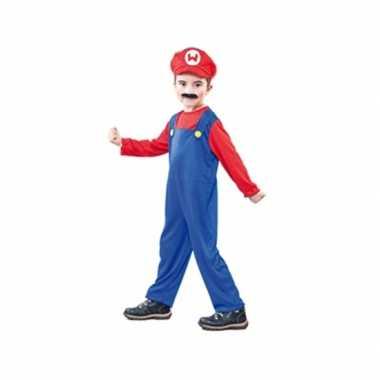 Loodgieter kostuum voor kinderen carnaval