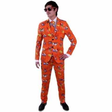 Luxe nederland kostuum voor heren carnaval