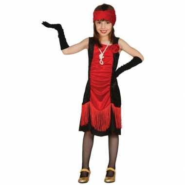 Maffioso jurkje voor meisjes carnaval