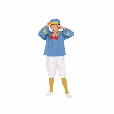 Matrozen eend verkleed kostuum voor kinderen carnaval