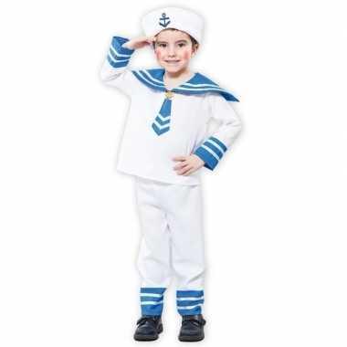 Matrozen verkleedkleding voor een jongen carnaval