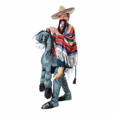 Mexicaan op een ezel kostuum voor carnaval