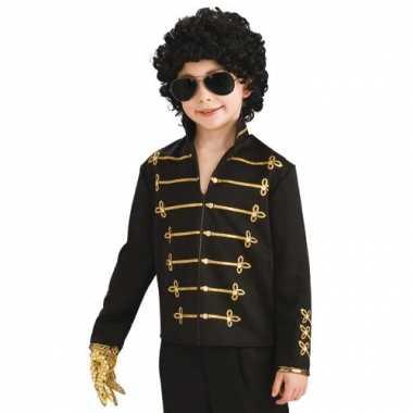 Michael Jackson Military jasje kind voor carnaval