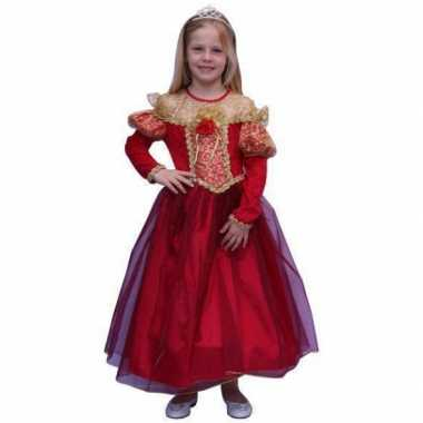 Middeleeuwse prinsessenjurk voor kinderen carnaval