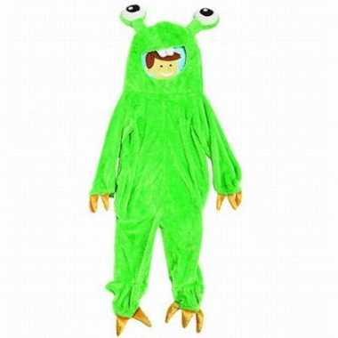 Monster outfit Gumbly voor kinderen carnaval