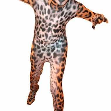 Morphsuit met luipaard print