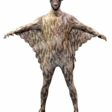 Morphsuit met vleermuizen print voor kids carnaval